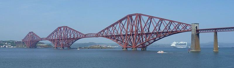Forth Bridge - photo from Wikipedia